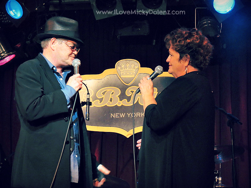 Micky Dolenz and Gemma Coco Dolenz - micky dolenz bb kings new york city july 30, 2014 www.ilovemickydolenz.com jacqueline dolenz